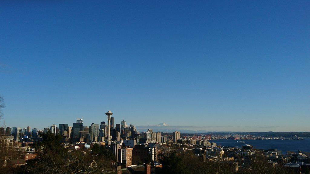 Seattle Skyline Westküste-USA-Roadtrip-Teil-1